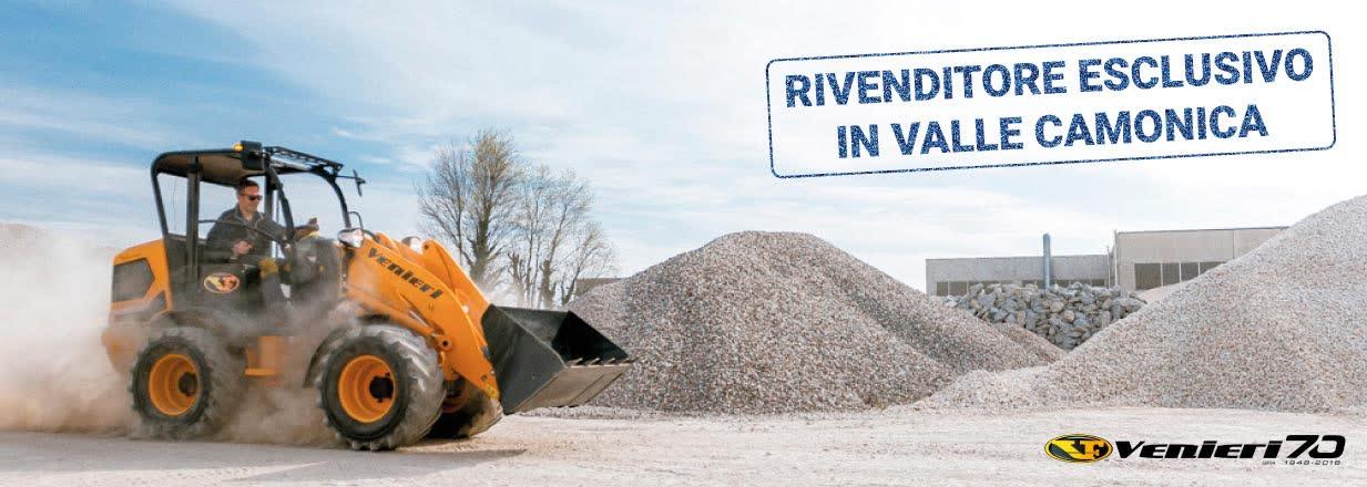 Rivenditore esclusivo VF Venieri Valle Camonica